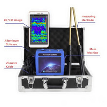 Professional gold detector machine underground metal hunter 3D treasure