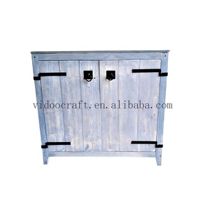 Wood Garden Storage Shed / Large Backyard Outdoor Garden Garage / Tool Kit Building with Wood Color
