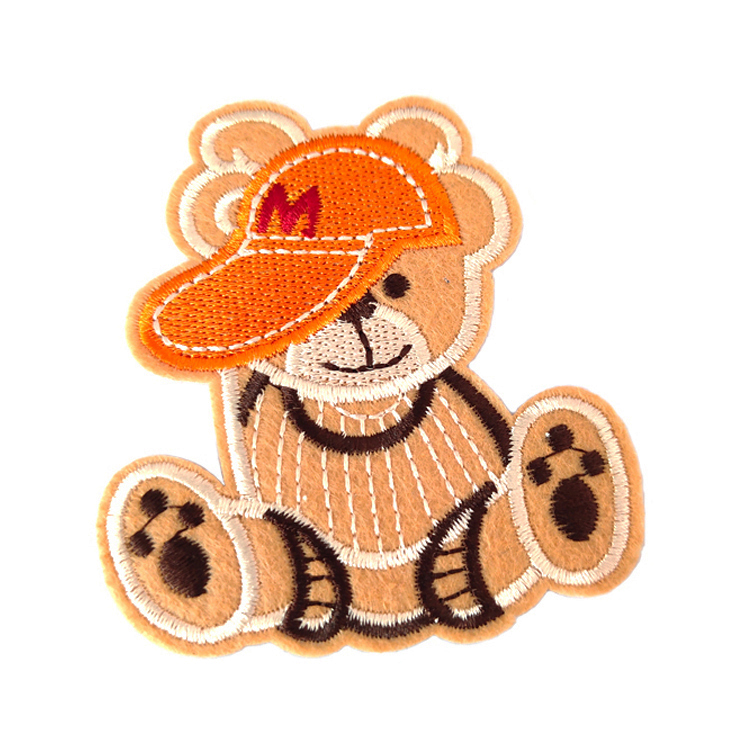 Factory Embroidery Badges High Quality Custom Applique Embroidered Accessories Patch