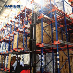Cold Storage Pallet Runner Warehouse Rack Solution