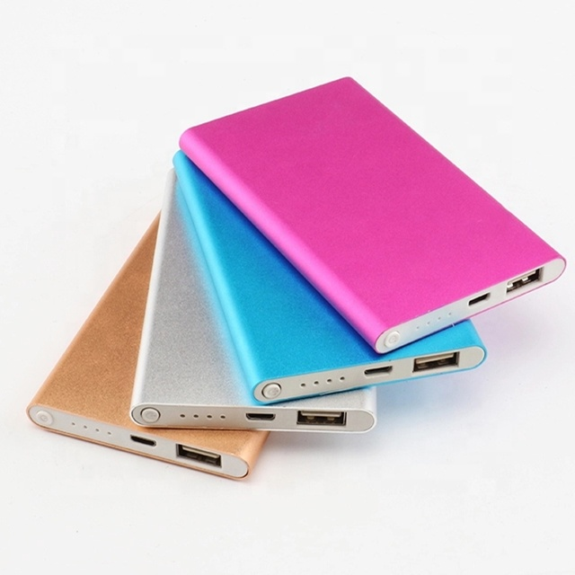 2019 Hot PRODUCTS 5000mah Portable mini best power banks for gift consumer <strong>electronics</strong> ,fashion small mobile power bank