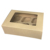 Kraft Brown Paper Cupcake Boxes with Window and inserts