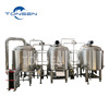 Factory price beer fermentation tanks 2000L industrial beer brewing equipment microbrewery equipment for sale