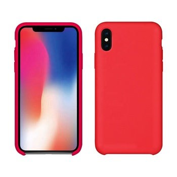 dropshipping usa custom printed logo soft silicone phone case for iphone X 8 8 Plus cover
