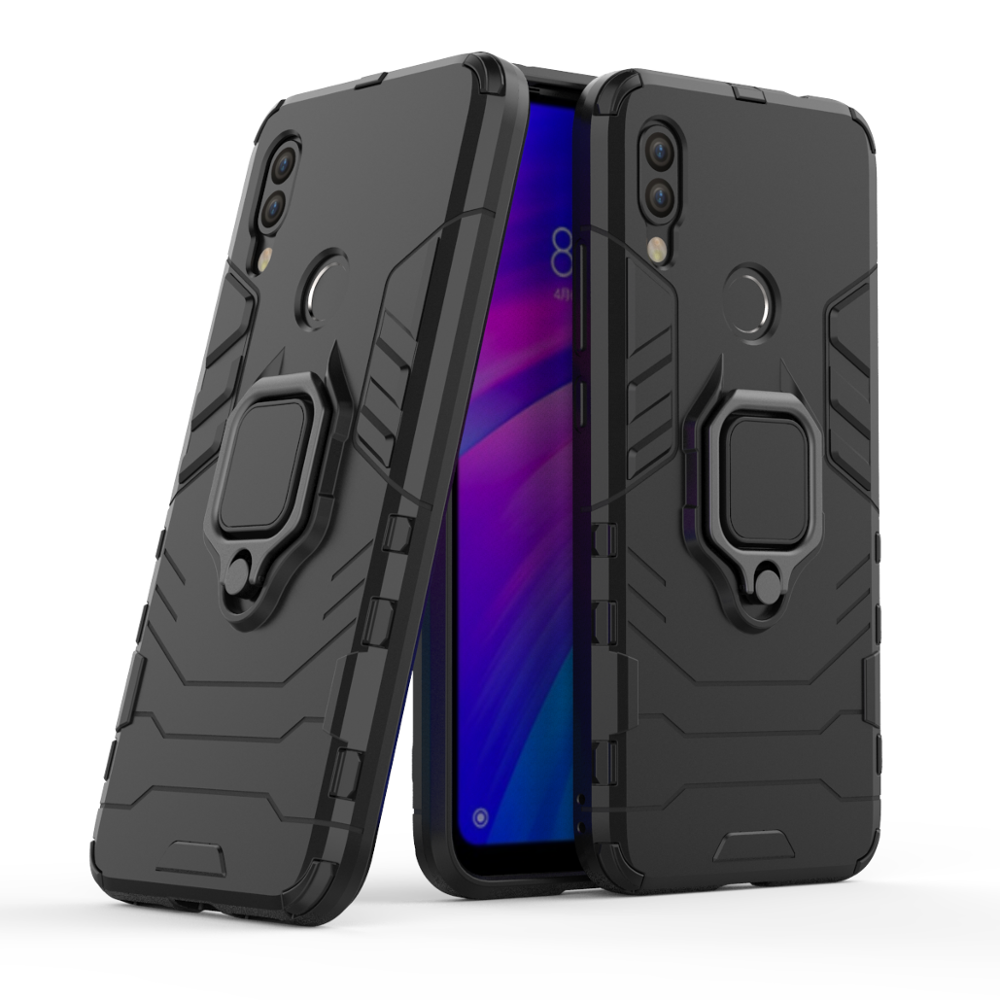 2019 newest 360 degree PC TPU <strong>2</strong> in 1 shockproof cell phone case for xiaomi redmi 7 phone case for <strong>Y3</strong>