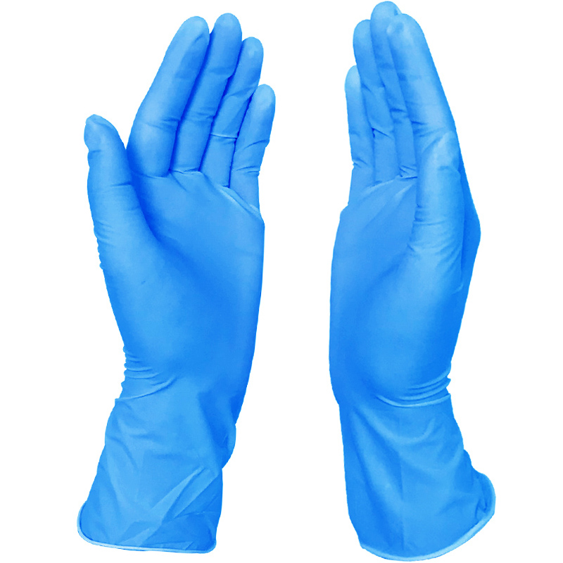 Wholesale Powder free disposable nitrile <strong>gloves</strong> for medical examination