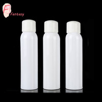 fantasy luxury 100ml 150ml 200ml cosmetic white plastic perfume bottle sprayer pump bottle for sunscreen container