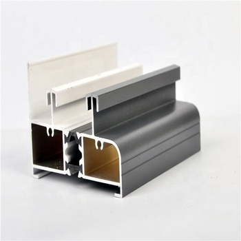 aluminum profile with anodized bronze surface and high quality