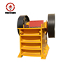 Compact structure mini mobile jaw crusher for rock quarry