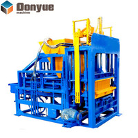 Cement interlocking brick block making machine