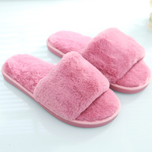 Comfortable Home Warm Indoor Bedroom Plush Women Ladies House <strong>Slipper</strong>