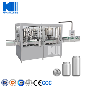 can filling line with liquid nitrogen injection machine