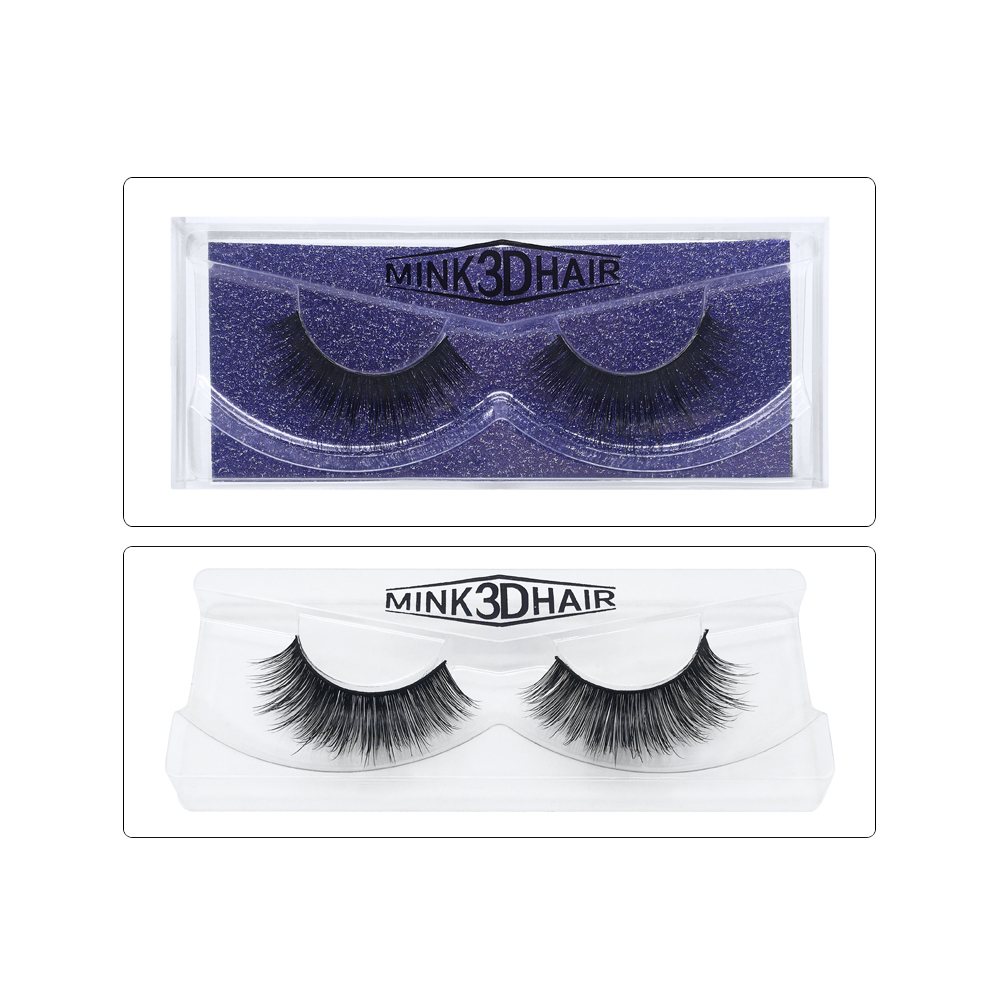 <strong>17</strong> Different Style 3d Fake Mink Extension Extention Eyelashes Volume Trays Eyelash Extensions 5d (1 Pair / Box)
