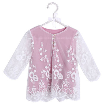 New Tops Girls Fashion 2019 Spring Children Long Sleeve Shirt