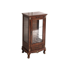DC904 solid wood ball and claw leg NC cherry finishing Curio pier unit
