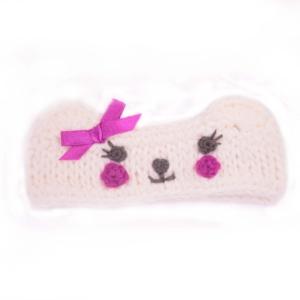 Winter warm 100% Acrylic Knit Cute Baby hair Head Band