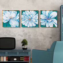 European Modern Fashion Style 3D Flower Canvas Art Paintings,Home Decoration,Wall Art <strong>Furniture</strong>