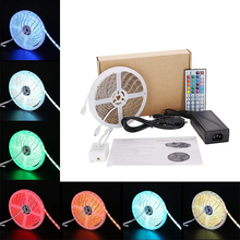 Led Strip Light 5050 <strong>RGB</strong> Color Changing LED Strip Lights Waterproof Horticulture Strip LED Grow Lamp