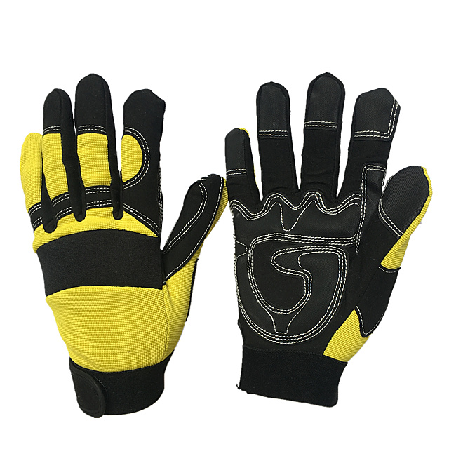 Dexterity Tough Stretchable Excellent Grip Mechanic <strong>Gloves</strong>