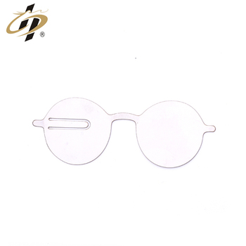 Wholesale custom silver Book Worm Gifts Metal Glasses blank Bookmark for Reading Lover