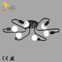 European Metal Modern 40W Surface Mounted Ceiling Lighting For Living Room