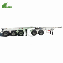 Eleph Design Tandem Axles Skeleton Superlink Semi Trailer for Transport 20ft and 40ft <strong>Container</strong>
