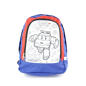 Custom school waterproof foldable kids backpack bag