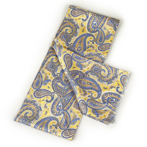 Fashion Men Printing Wholesale Silk Scarves Custom