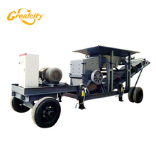 Reasonable price portable crushing plant for mining field