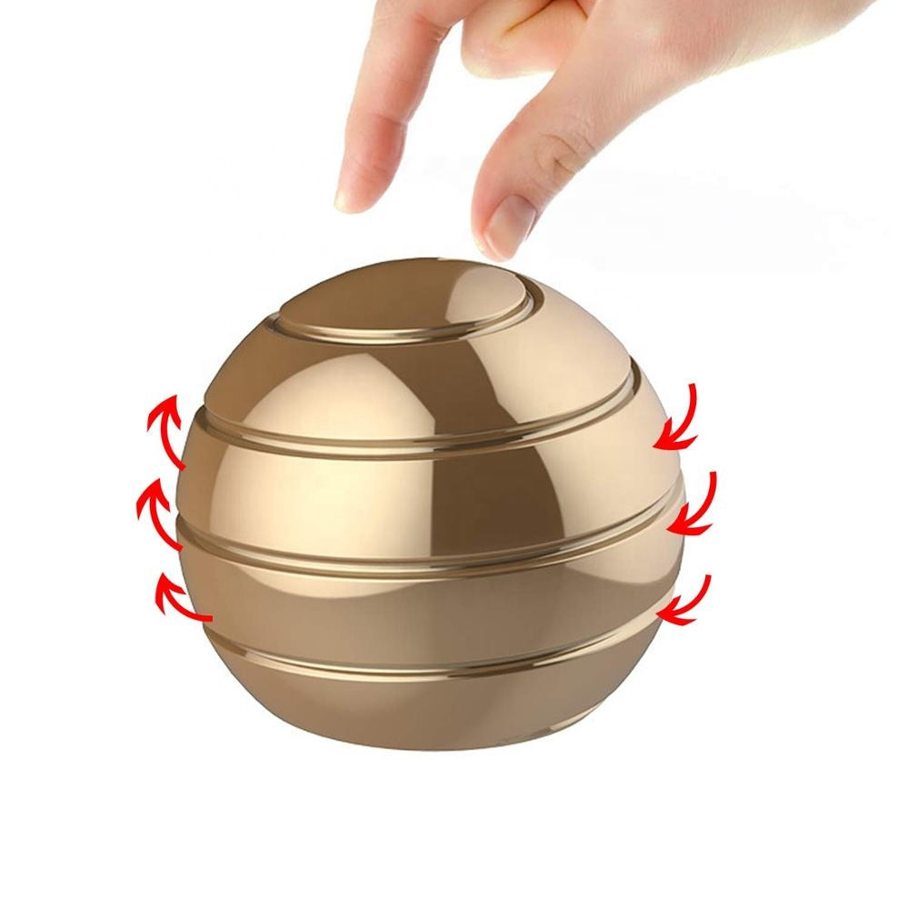 Kinetic Desk Stress Relief Toy for Adults Office with Full Body Optical Illusion <strong>Ball</strong>
