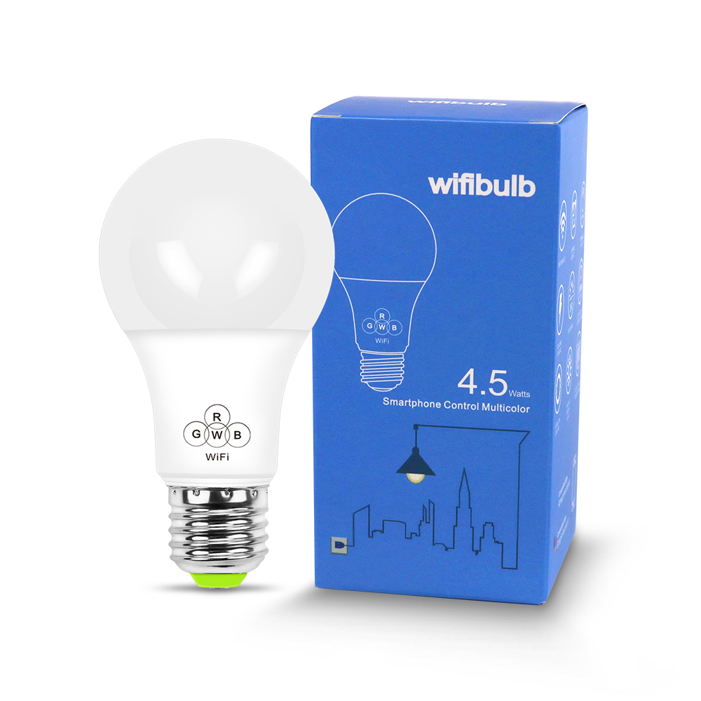 2019 New Products Smart WiFi <strong>bulb</strong> colorful color support alexaGoogle voice control led <strong>bulb</strong>