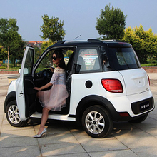 New Energy Mini Electric Car With Solar Panel From China