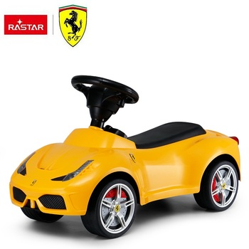 Rastar toy gift Ferrari licensed baby walker kids ride on toy car