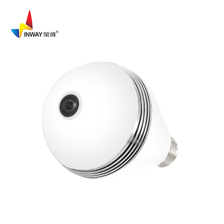 CAMERA <strong>BULB</strong> Intelligent household 360 no dead Angle E27 small bluetooth remote control led smart remote light camera light <strong>bulb</strong>