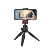 Wholesale New Plastic 360 Degree Rotation Mini DSLR Camera Selfie Stick Mobile Phone Tripod Stand with Quick Release Plate