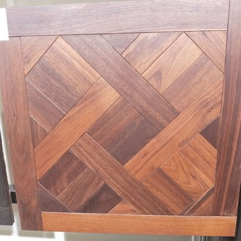 Versailles Pattern Mosaic Oak Engineered Wood Flooring For Decoration ors