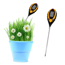 Hot-sale Soil moisture temperature PH and sunlight 4 in 1 sensor <strong>meter</strong>