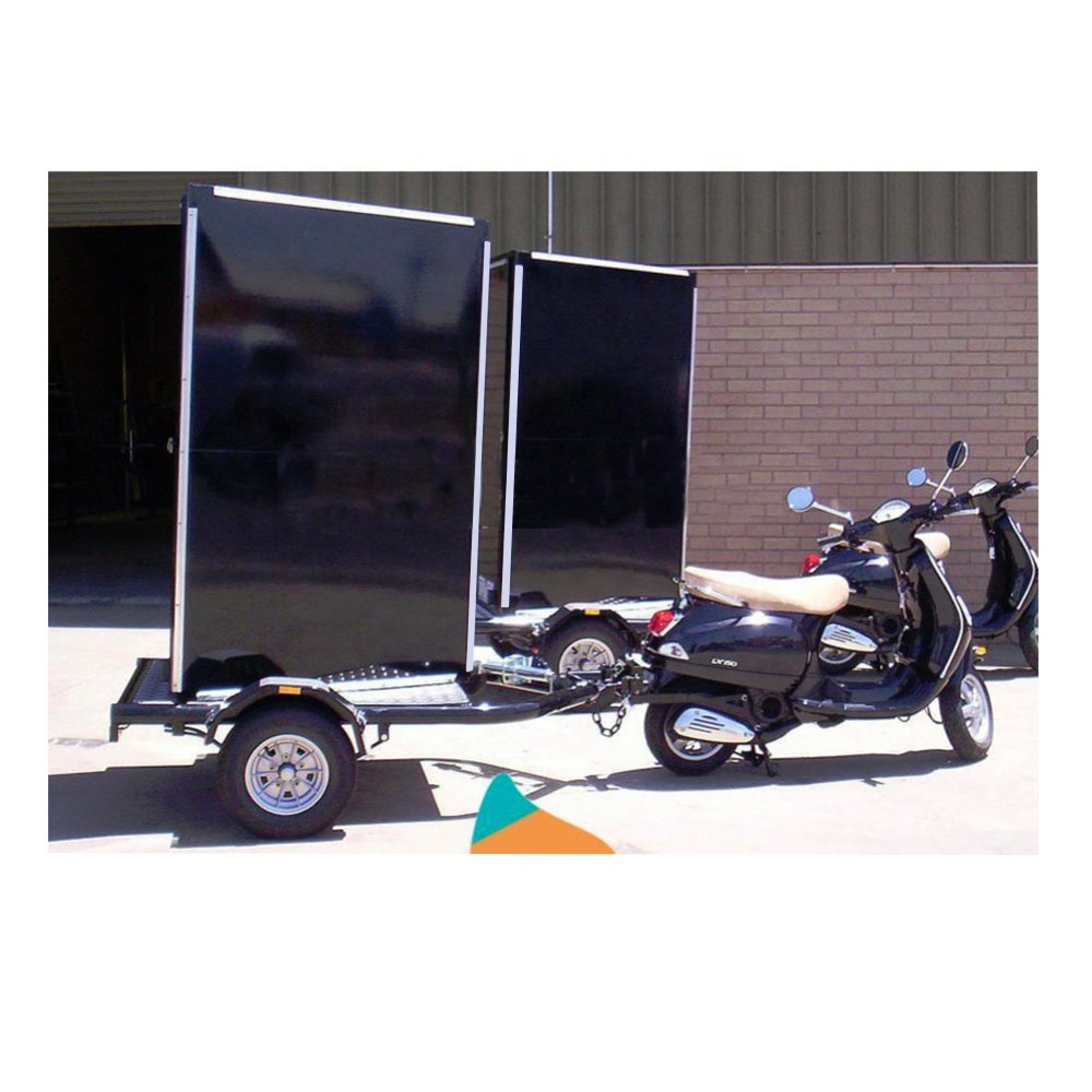 outdoor mobile advertising scooter billboard mobile led <strong>screen</strong> trailer