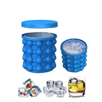Mini Space Saving Molds Ice Genie Custom Silicone Beer Ice Bucket