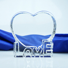 Heart Shape Crystal Love Iceberg for Valentine's Day and Wedding Gifts Image stone