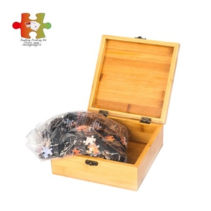 Dependable quality custom 500 pieces mini puzzle jigsaw gift box