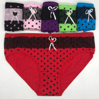 Yun Meng Ni women fashion underwear ladies sexy panties printing dot underwear from china
