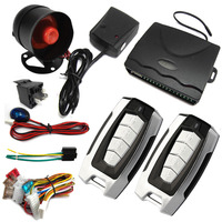 High Quality Competitive Price One Way Funny Car Alarm SKU 802B-8171 System For All Cars