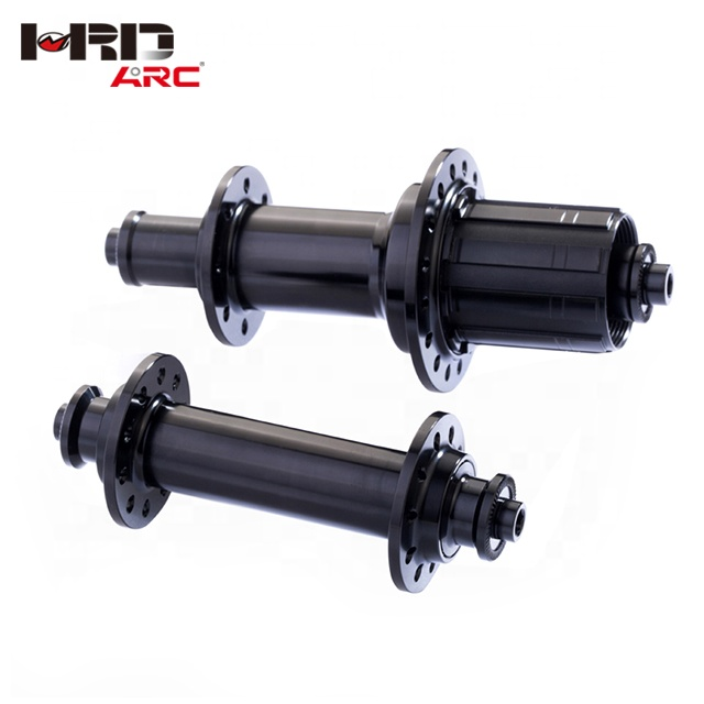 RT-003F/R <strong>J</strong> bend <strong>24</strong> holes aluminum alloy road bike parts bicycle hub light