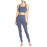 Yoga Sets Fitness Women Active Wear Tops Nude Women Yoga Pants Sports Apparel Running Wear