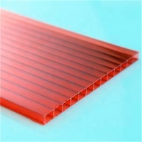 pc lexan roof hollow polycarbonate sheet
