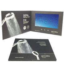 2.4 Inch Invitation Video Brochure Lcd Video Screen Brochure for Gifts Lcd Video Greeting <strong>Card</strong>