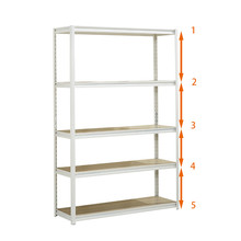 2019 Fashion Metal boltless home storage <strong>shelf</strong> with low price