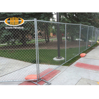 Cheap USA temporary fence playground fence gate post
