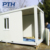 Low cost prefabricated building container house for living